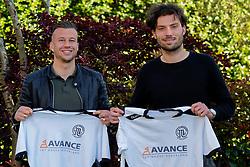 Mitch van der Vlist and Glenn Geefshuijsen (R) plays next season for VV Maarssen sat 1. He comes from the Sportlust'46 from Woerden on may 05, 2020 in Maarssen, Netherlands
