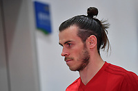 Gareth Bale of Wales national football team is pictured in a training session before the semi-final match against China during the 2018 Gree China Cup International Football Championship in Nanning city, south China's Guangxi Zhuang Autonomous Region, 20 March 2018.