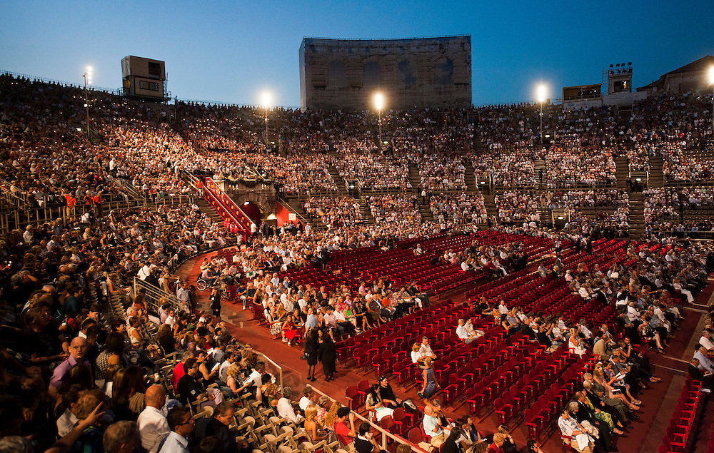 Aida at Arena Verona with images from backstage.Verona is a city in Veneton, Northern Italy home to approx. 265,000 inhabitants and one of the seven provincial capitals of the region. Verona has Roman origins and  derived importance from being at the intersection of many roads. It is world famous for the Arena and its Opera....***Agreed Fee's Apply To All Image Use***.Marco Secchi /Xianpix. tel +44 (0) 207 1939846. e-mail ms@msecchi.com .www.marcosecchi.com