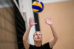 26-10-2017 NED: Teamfoto Prima Donna Kaas vrouwen, Huizen<br /> Sanne Berculo #4 of PDK Huizen