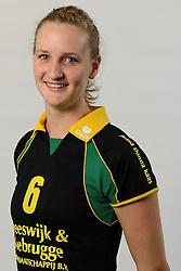 29-10-2014 NED: Selectie Prima Donna Kaas Huizen vrouwen, Huizen<br /> Selectie seizoen 2014-2015 / Kirsten Sparnaay