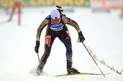 Eva Tofalvi (ROU) at Women 15 km Individual at E.ON Ruhrgas IBU World Cup Biathlon in Hochfilzen (replacement Pokljuka), on December 18, 2008, in Hochfilzen, Austria. (Photo by Vid Ponikvar / Sportida)