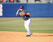 Mississippi's Zach Miller vs. Oakland in Oxford, Miss. on Saturday, February 27, 2010. Ole Miss won 10-2.