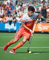 WAALWIJK -  RABO SUPER SERIE . Robbert Kemperman (Ned)  tijdens  de hockeyinterland heren  Nederland-India (3-4),  ter voorbereiding van het EK,  dat vrijdag 18/8 begint.  COPYRIGHT KOEN SUYK