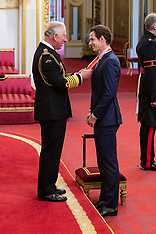 Andy Murray receives his knighthood - 16 May 2019