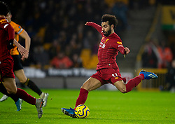 WOLVERHAMPTON, ENGLAND - Thursday, January 23, 2020: Liverpool's Mohamed Salah during the FA Premier League match between Wolverhampton Wanderers FC and Liverpool FC at Molineux Stadium. (Pic by David Rawcliffe/Propaganda)