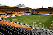 Football ground during the Sky Bet Championship match between Wolverhampton Wanderers and Ipswich Town at Molineux, Wolverhampton, England on 2 April 2016. Photo by Alan Franklin.
