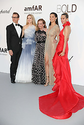 Gabriel Macht, Jacinda Barrett, Caroline Scheufele, Adriana Lima and Petra Nemcova arrive at the amfAR Gala Cannes 2018 at Hotel du Cap-Eden-Roc on May 17, 2018 in Cap d'Antibes, France. Photo by Shootpix/ABACAPRESS.COM