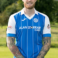 Denny Johnstone pictured ahead of training today after signing a 12 month loan deal with St Johnstone…24.08.17<br />