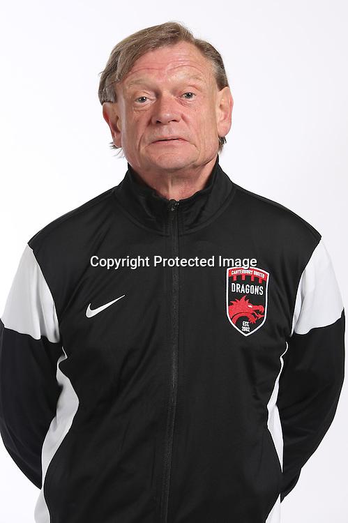 Willy Gerdson ( Head Coach ).<br /> Canterbury United FC headshots for the Stirling Sports Premiership Football League 2016-17 season.