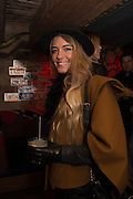 KAYLEIGH CURNEEN, The launch of Beaver Lodge in Chelsea, a cabin bar and dance saloon, 266 Fulham Rd. London. 4 December 2014