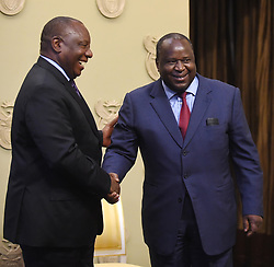 Cape Town-181009-President Cyril Ramaphosa appointed Tito Mboweni as the new Finance Minister of South Africa .Photographer:Phando Jikelo/African News Agency(ANA)