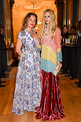 Left to right, Alice Temperley and Laura Bailey at the Royal Academy of Arts Summer Exhibition Preview Party 2017, Burlington House, London England. 7 June 2017.