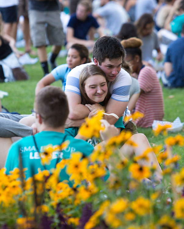 Annual Welcome Back Barbecue on Herak Quad Aug. 30. Photo by Libby Kamrowski