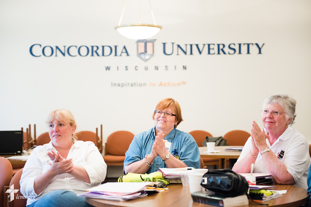 Photographs from the LCMS Parish Nurse District Representatives Meeting at Concordia University Wisconsin in Mequon, Wis., on Tuesday, May 27, 2014. LCMS Communications/Erik M. Lunsford