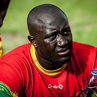 11/06/2013. Stade Iba Mr Diop, Dakar, Senegal. Oubakary Signaté pendant la demi-finale de la Coupe d'Afrique des Nations B contre la Namibie. ©Sylvain Cherkaoui