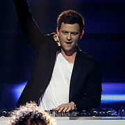 NLD/Hilversum/20141219- Finale The Voice of Holland 2014, opening van de show, Fedde le Grand