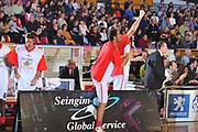 DESCRIZIONE : Venezia Lega A2 2009-10 Umana Reyer Venezia Riviera Solare Rimini<br /> GIOCATORE : Team Riviera<br /> SQUADRA : Riviera Solare Rimini <br /> EVENTO : Campionato Lega A2 2009-2010<br /> GARA : Umana Reyer Venezia Riviera Solare Rimini<br /> DATA : 09/12/2009<br /> CATEGORIA : Esultanza<br /> SPORT : Pallacanestro <br /> AUTORE : Agenzia Ciamillo-Castoria/M.Gregolin<br /> Galleria : Lega Basket A2 2009-2010 <br /> Fotonotizia : Venezia Campionato Italiano Lega A2 2009-2010 Umana Reyer Venezia Riviera Solare Rimini<br /> Predefinita :
