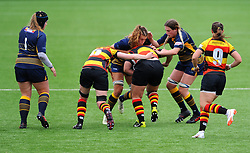 Cara Brincat of Worcester Valkyries tackles Alice Soper of Richmond Women - Mandatory by-line: Nizaam Jones/JMP - 22/09/2018 - RUGBY - Sixways Stadium - Worcester, England - Worcester Valkyries v Richmond Women - Tyrrells Premier 15s