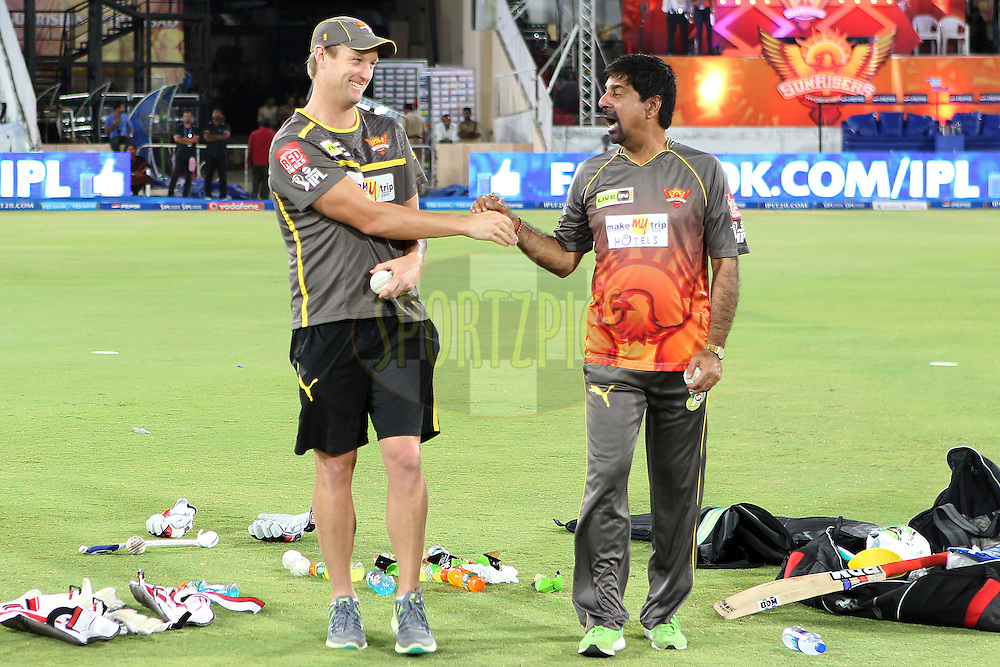 during match 54 of the Pepsi Indian Premier League between The Sunrisers Hyderabad and Chennai Superkings held at the Rajiv Gandhi International  Stadium, Hyderabad  on the 8th May 2013..Photo by Ron Gaunt-IPL-SPORTZPICS ..Use of this image is subject to the terms and conditions as outlined by the BCCI. These terms can be found by following this link:..http://www.sportzpics.co.za/image/I0000SoRagM2cIEc