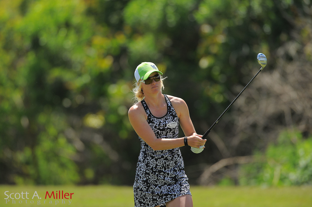 Nicole Smith during the final round of the Symetra Tour's Florida's Natural Charity Classic at the Lake Region Yacht and Country Club on March 25, 2012 in Winter Haven, Fla. ..©2012 Scott A. Miller.