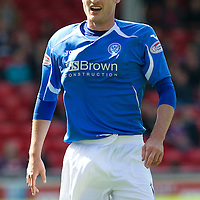 Aberdeen v St Johnstone... 23.07.11   SPL Week 1<br /> David Robertson<br /> Picture by Graeme Hart.<br /> Copyright Perthshire Picture Agency<br /> Tel: 01738 623350  Mobile: 07990 594431