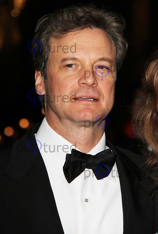 Colin Firth British Fashion Awards 2011, The Savoy Hotel, London, UK. 28 November 2011. Contact: Rich@Piqtured.com +44(0)7941 079620 (Picture by Richard Goldschmidt)