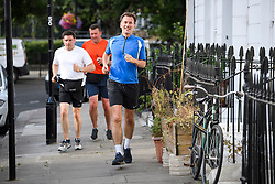 © Licensed to London News Pictures. 10/07/2018. London, UK. Newly appointed Foreign Secretary JEREMY HUNT is seen jogging near his London home. Cabinet resignations by Former Foreign Secretary Boris Johnson and former Brexit secretary David Davis have put pressure on Prime Minister Theresa May over her handling of the Brexit negotiations, with suggestions of a leadership challenge. Photo credit: Ben Cawthra/LNP