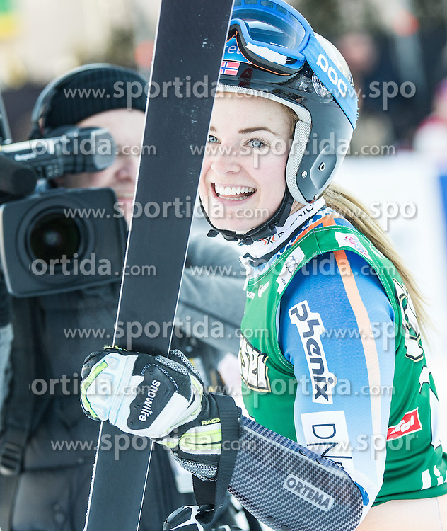 28.12.2013, Hochstein, Lienz, AUT, FIS Weltcup Ski Alpin, Lienz, Riesentorlauf, Damen, 2. Durchgang, im Bild Nina Loeseth (NOR) // after the 2nd run of ladies giant slalom Lienz FIS Ski Alpine World Cup at Hochstein in Lienz, Austria on 2013/12/28, EXPA Pictures © 2013 PhotoCredit: EXPA/ Michael Gruber