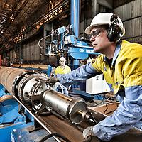 Hartlepool - new machinery for wind turbine at TATA Steel Hartlepool