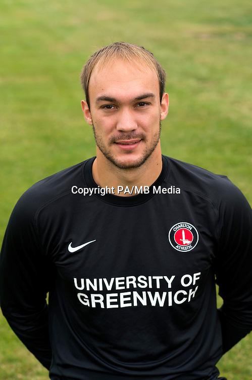 Charlton Athletic goalkeeper Marko Dmitrovic