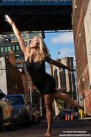 Brooklyn Bridge Dumbo Dance As Art The New York Photography Project with Summation Dance Company dancer, Taryn Vander Hoop