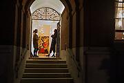 Stefania Pramma launched her handbag brand PRAMMA  at the Kensington residence of her twin sister, art collector Valeria Napoleone.. London.  29 April 2015