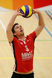 20180324 NED: Topdivisie Maatwerkers VCN - Next Volley Dordrecht, Capelle aan den IJssel <br />Robert Jansen (3) of Maatwerkers VCN <br />©2018-FotoHoogendoorn.nl / Pim Waslander