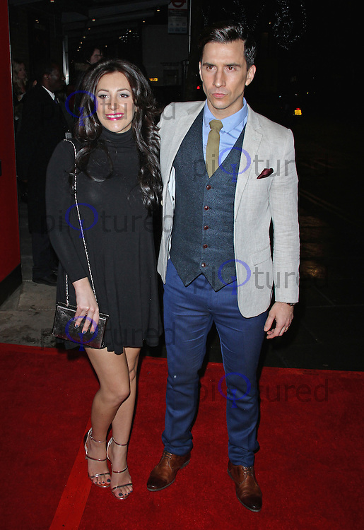 Lindsey Cole & Russell Kane, The Great Gatsby - Press Night, Sadler's Wells, London UK, 24 March 2015, Photo By Brett D. Cove