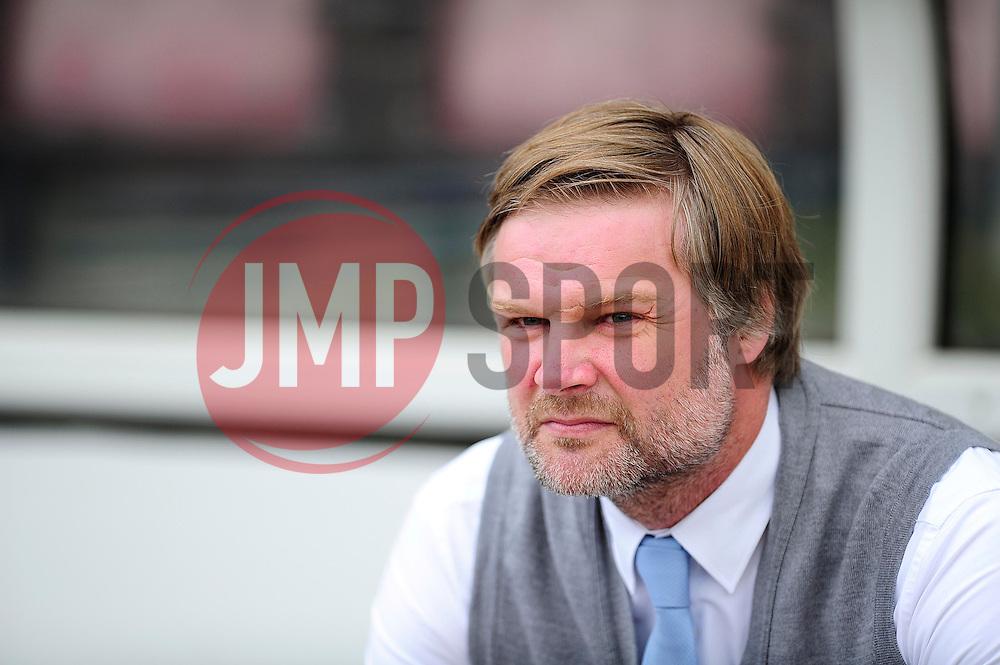 Coventry City manager, Steven Pressley  - Photo mandatory by-line: Dougie Allward/JMP - Tel: Mobile: 07966 386802 11/08/2013 - SPORT - FOOTBALL - Sixfields Stadium - Sixfields Stadium -  Coventry V Bristol City - Sky Bet League One
