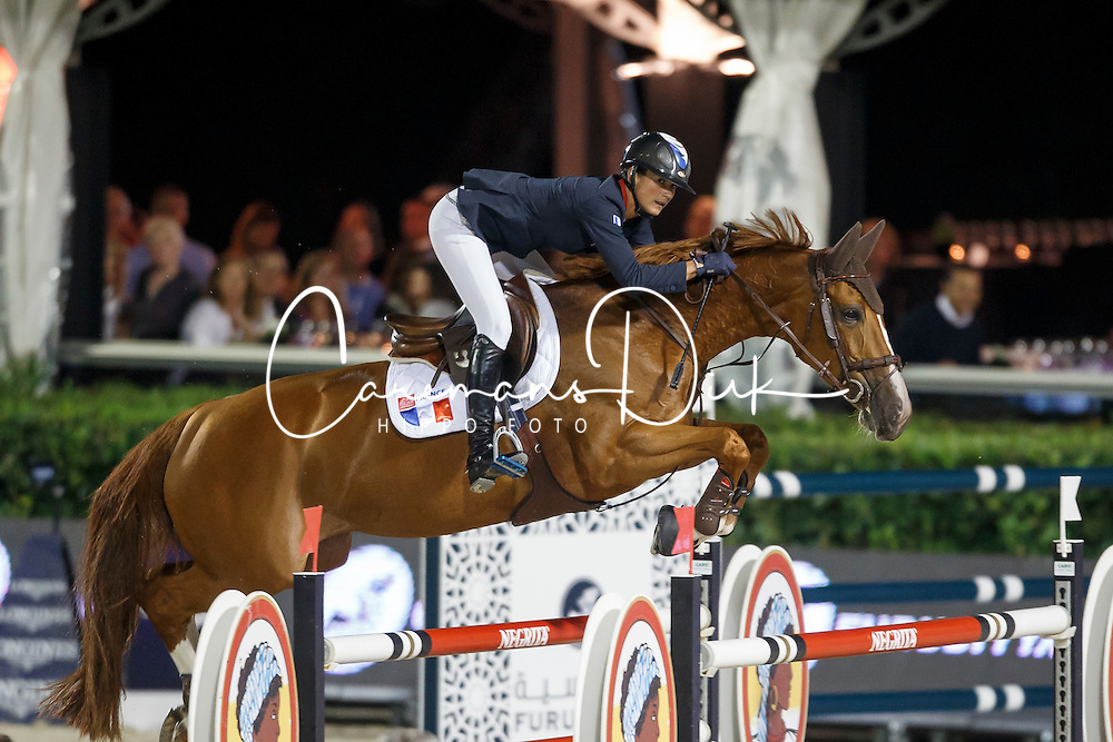 Leprevost Penelope, (FRA), Flora de Mariposa, FEI President<br /> Logines Challenge Cup<br /> Furusiyya FEI Nations Cup Jumping Final - Barcelona 2015<br /> &copy; Dirk Caremans<br /> 25/09/15