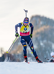 15.01.2020, Chiemgau Arena, Ruhpolding, GER, IBU Weltcup Biathlon, Sprint, Damen, im Bild Dorothea Wierer (ITA) // Dorothea Wierer of Italy during the women sprint competition of BMW IBU Biathlon World Cup at the Chiemgau Arena in Ruhpolding, Germany on 2020/01/15. EXPA Pictures © 2020, PhotoCredit: EXPA/ Stefan Adelsberger