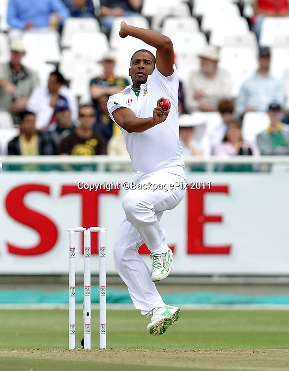 Vernon Philander of South Africa. South Africa v Australia, first test, day 1, Newlands, South Africa. 9 November 2011.<br /> <br /> &copy;Ryan Wilkisky/BackpagePix