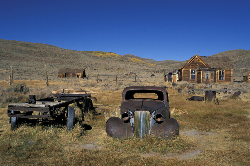 Ghost Town<br /> Bodie State Historic Park<br /> California<br /> USA