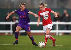 Lucy Graham of Bristol City - Mandatory by-line: Paul Knight/JMP - 17/11/2018 - FOOTBALL - Stoke Gifford Stadium - Bristol, England - Bristol City Women v Liverpool Women - FA Women's Super League 1