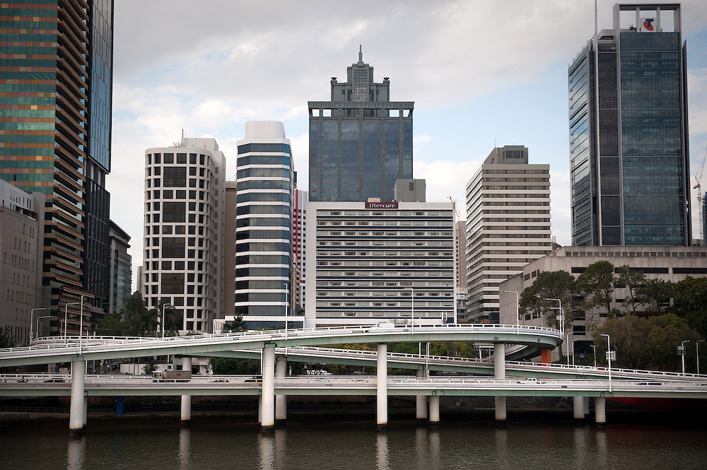 The South Bank by the Brisbane River, Brisbane, Queensland, Australia.