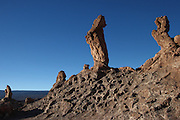 The Tres Marias (three Marys), in Valle de la Luna (the Valley of the Moon) in Chile's Atacama Desert