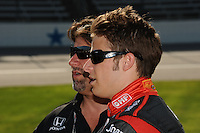 Marco and Michael Andretti, Indy Car Series