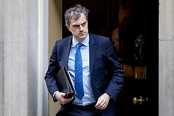 © Licensed to London News Pictures. 05/03/2019. London, UK. Conservative Chief Whip Julian Smith leaves 10 Downing Street after the Cabinet meeting. Photo credit: Rob Pinney/LNP