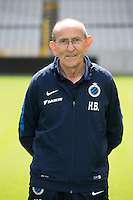 Club's warehouse man Herman Brughmans poses for the photographer during the 2015-2016 season photo shoot of Belgian first league soccer team Club Brugge, Friday 17 July 2015 in Brugge