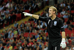 04.09.2010, Wembley Stadium, London, ENG, UEFA Euro 2012 Qualification, England v Bulgaria, im Bild England number one. Keeper Joe Hart of Englan. EXPA Pictures © 2010, PhotoCredit: EXPA/ IPS/ Sean Ryan +++++ ATTENTION - OUT OF ENGLAND/UK +++++ / SPORTIDA PHOTO AGENCY