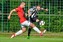 Nino Kouter of ND Mura during football match between ND Mura and ND Tabor Sezana in Round #28 of 2.SNL 2017/18 on May 13, 2018 in Mestni stadion Fazanerija , Murska Sobota , Slovenia. Photo by Mario Horvat / Sportida