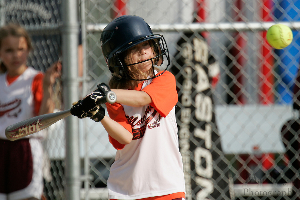 Cinaminson Little League annual McKeever Softball Tournament - U8 division.