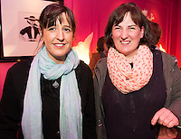 Sarah Bruzzi and Sally Ann O'Sullivan  Galway Design Week  in the g hotel for the launch of Galway Design Week, a week of design-led events celebrating the best of Galway design, which will be held all over the City from the 10th to the 17th of November. Photo:Andrew Downes